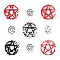 Pentagram,Voodoo,Devil,Sign...