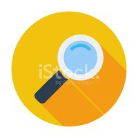 Flat,Magnifying Glass,Patte...