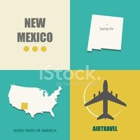 New Mexico,Sign,Symbol,Abst...