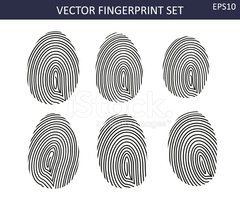 Fingerprint,Striped,Backgro...