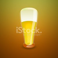 Beer Glass,Single Object,Co...