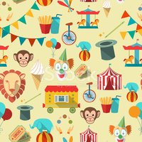 Traveling Carnival,Vector,F...