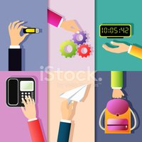 Clock,Collection,Internet,H...