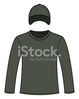 Blank,Clothing,template,Pol...