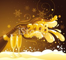 New Year's Eve,Champagne,Pa...