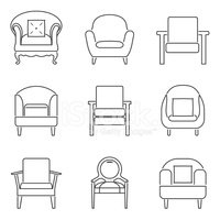 Vector,Furniture,Ilustratio...