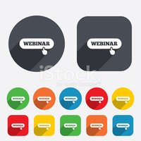 Webinar,Symbol,Education,I...