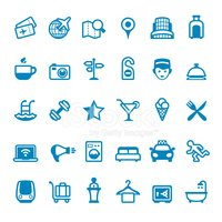 Icon Set,Symbol,Hotel,Do No...