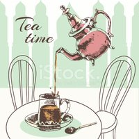 Tea - Hot Drink,Time,Mint L...