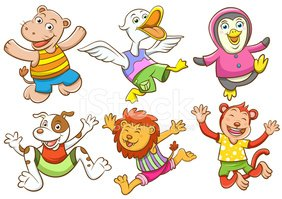 Child,Vector,Cute,Jumping,I...