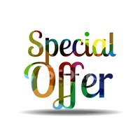 Special Offer Colorful Vector Icon Design