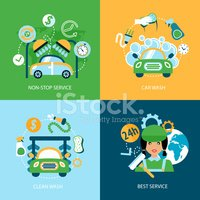 Infographic,Car,Water,Icon ...