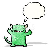 Thought Cloud,Devil,Animal,...
