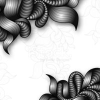 Abstract,Floral Pattern,Ret...