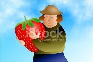 Farmer,Organic,Strawberry,H...