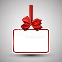 Bow,Greeting Card,Red,Bow,R...