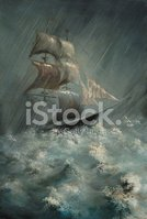 Storm,Sailing Ship,Sea,Ship...