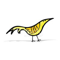 Yellow,Bird,funny animals,C...