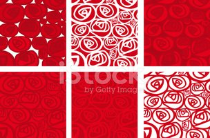 Flower Bed,Pattern,Red,Pass...