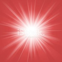 Exploding,Star Shape,Red,Li...