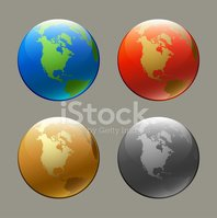 Sphere,USA,Set,Green Color,...