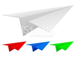 Paper Airplane,Vector,Craft...