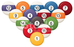 pool table ball clipart. pool ball set table clipart
