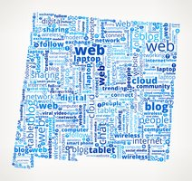 New Mexico on Modern Communication and Technology Word Cloud
