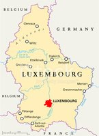 Cartography,Luxembourg - Be...