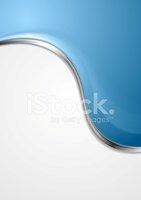 Abstract,Curve,Blue,Silver ...