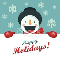 Snowman,Holiday,Happiness,C...