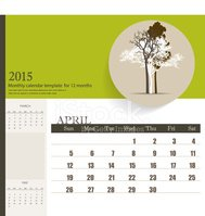 Calendar,Abstract,2015,Pers...