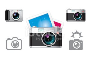 Digital Camera,Icon Set,Opt...