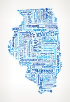 Illinois on Modern Communication and Technology Word Cloud