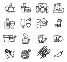 Symbol,Wine,Food,Wine Bottl...