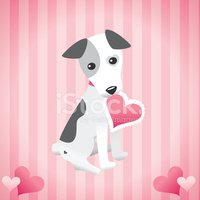 Dog,Valentine's Day - Holid...