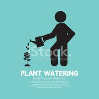 Watering,Plant,Pouring,Gard...