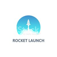 Taking Off,Rocket,Symbol,Sk...