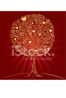 Tree,Heart Shape,Jewelry,An...