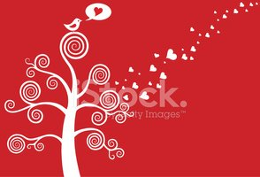 Bird,Tree,Love,Heart Shape,...