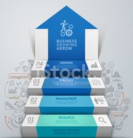 Staircase,Steps,Infographic...