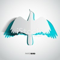Bird,Abstract,papercut,Cute...