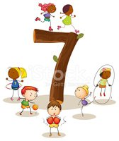 Little Boys,Number 7,Counti...