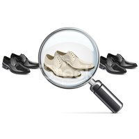 Magnifying Glass,Shoe,Varia...