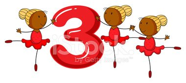 Counting,Number,Ballet,Danc...