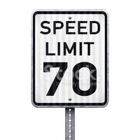 Speed Limit Sign,70s,Sign,A...