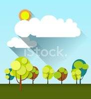 Backgrounds,Tree,Paper,Flat...