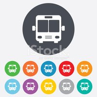Bus,Symbol,Traffic,People,T...