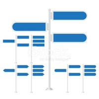 Blue,Sign,Road,Pole,Directi...