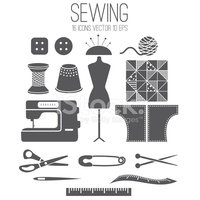 Sewing Machine,Thimble,Patt...